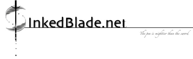 InkedBlade.net: The pen is mightier than the sword.